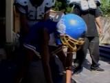 black cheerleader gang bang