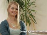Blonde Step Sister Violette Pink Gets DP